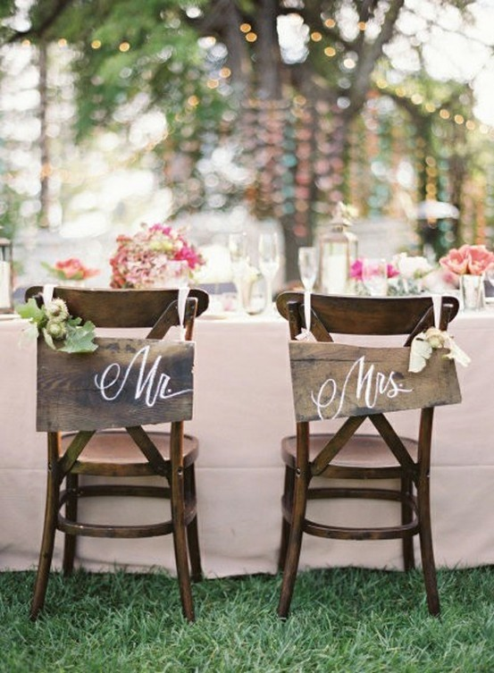 letras mr mrs boda